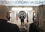U.S. Secretary of Veterans Affairs Robert Wilkie at the VA's new South Jordan Clinic